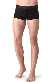 HOM Black Addict hipster trunks