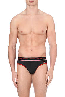 HOM HO1 striped briefs