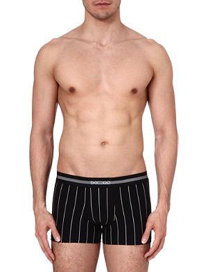 HOM Elegant pin-striped trunks