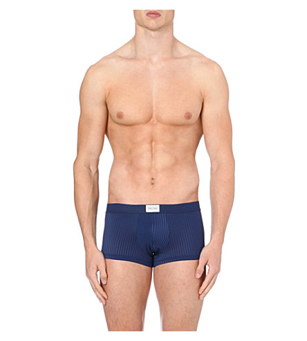 HOM Temptation striped trunks (Navy