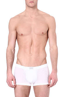 HOM Temptation Delight sheer-striped trunks