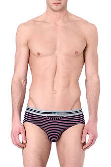 HOM HO1 striped modal briefs