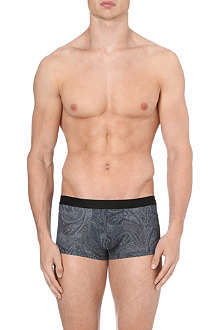 HOM Lace print hipster trunks