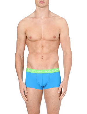 HOM Stretch-jersey hipster sport trunks