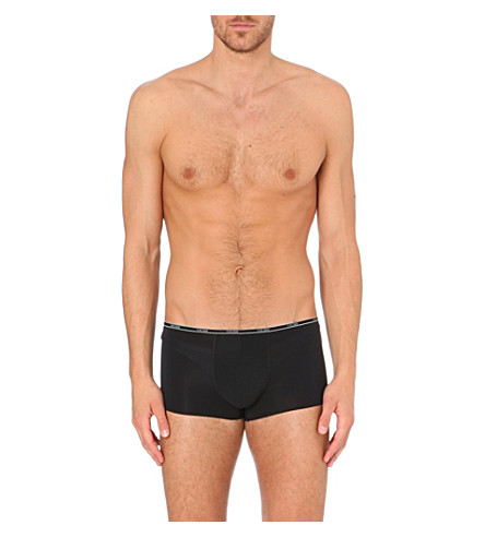 HOM Shorty Plumes trunks (Black