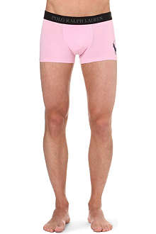 RALPH LAUREN Big Pony stretch-cotton trunks