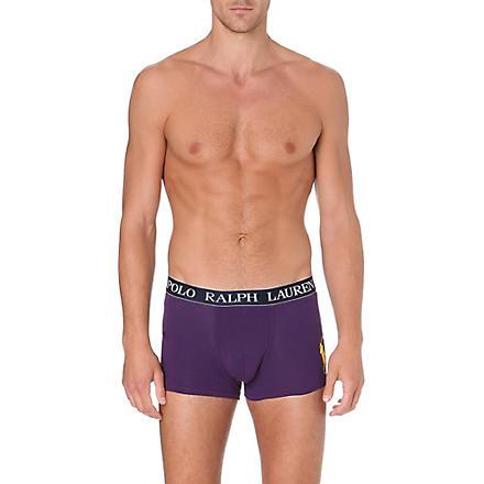 RALPH LAUREN Candy shop plain trunks (Purple