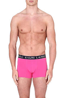 RALPH LAUREN Logo waistband trunks