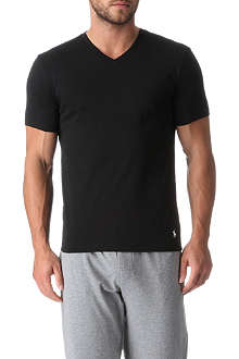 RALPH LAUREN Two pack cotton v-neck t–shirts