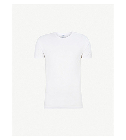 POLO RALPH LAUREN Two pack cotton crew neck t-shirts (White