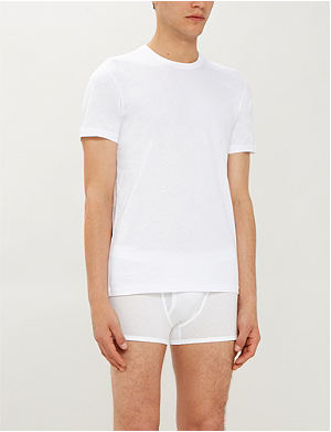 RALPH LAUREN Two pack cotton crew neck t–shirts
