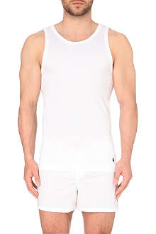 RALPH LAUREN Cotton-blend tank top