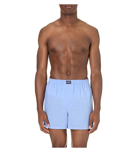 POLO RALPH LAUREN 经典棉拳击手短裤 (蓝色