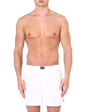 RALPH LAUREN Oxford cotton boxers