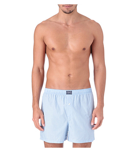 POLO RALPH LAUREN Pinpoint Oxford boxers (Blue