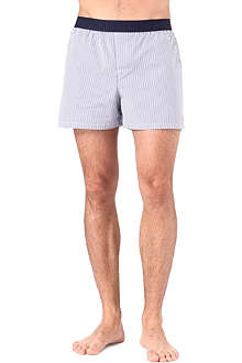 RALPH LAUREN Striped woven boxer shorts