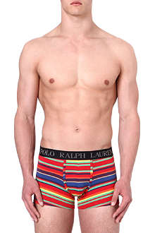 RALPH LAUREN Multi-stripe pouch trunks