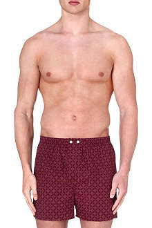 DEREK ROSE Star cotton boxer shorts