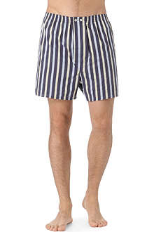 DEREK ROSE Royal striped boxer shorts