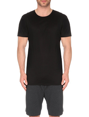 DEREK ROSE Lewis mercerised-cotton t-shirt