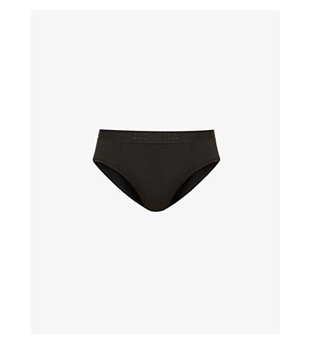 DEREK ROSE Alex slim-fit stretch-modal briefs (Black
