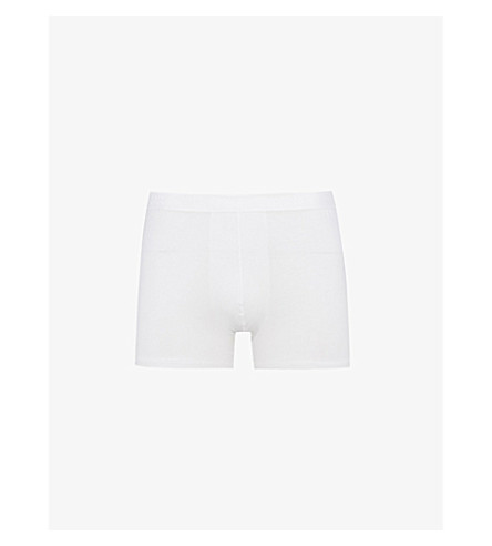 DEREK ROSE Regular-fit jersey trunks (White