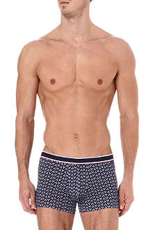 DEREK ROSE Tennis cotton hipster trunks