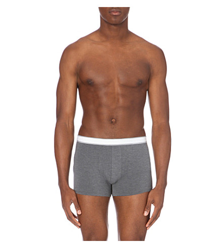 DEREK ROSE Ethan stretch-jersey boxer briefs (Charcoal