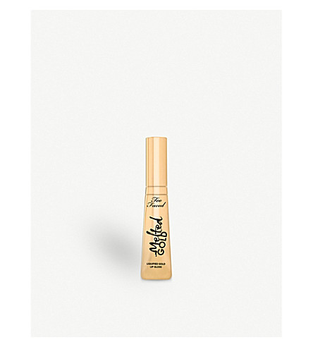 TOO FACED Melted Gold Lip Gloss