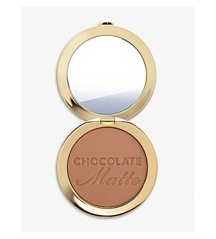 TOO FACED Milk Chocolate Soleil matte bronzer 7.9g (Chocolate