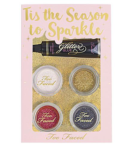 TOO FACED Tis' the Season to Sparkle glitter set