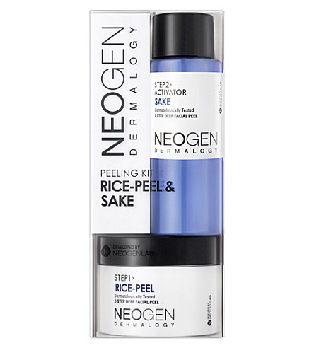NEOGEN Dermalogy rice-peel & sake facial peel 150g