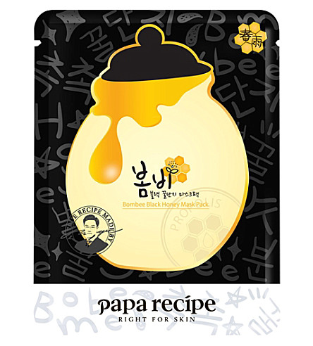 PAPA RECIPE Bombee black honey face mask