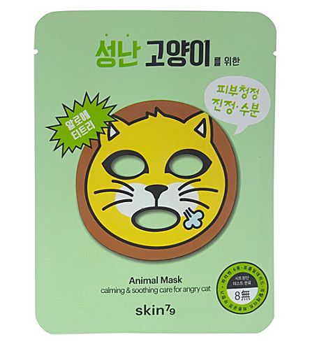 SKIN79 Angry Cat face mask