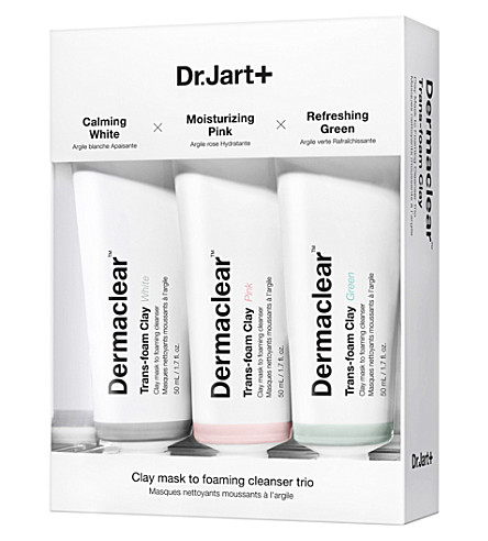 DR JART+ Dermaclear Trans-Foam Clay Trio 3x50ml