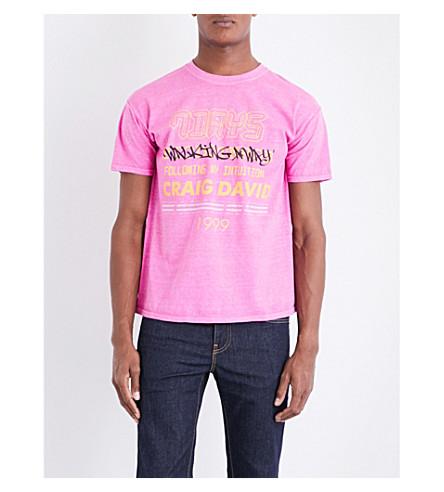 CRAIG DAVID 7 Days jersey T-shirt (Pink