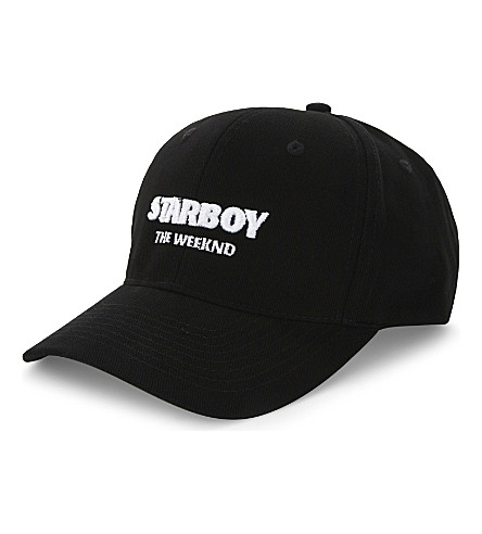 THE WEEKND The Weeknd Starboy cotton strapback cap (Black