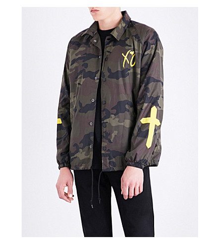 THE WEEKND XO Only shell jacket (Camo