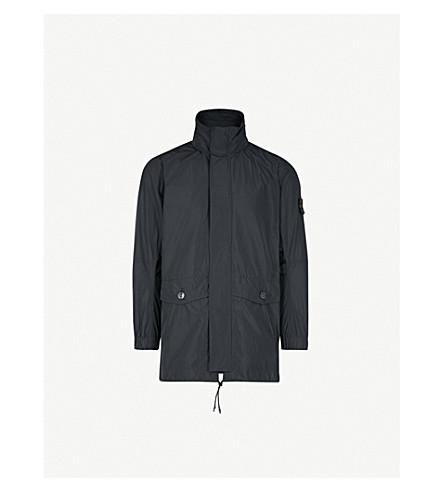 STONE ISLAND Micro Reps shell jacket (Black