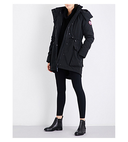 CANADA GOOSE Perley 3-in-1 shell down parka jacket (Black