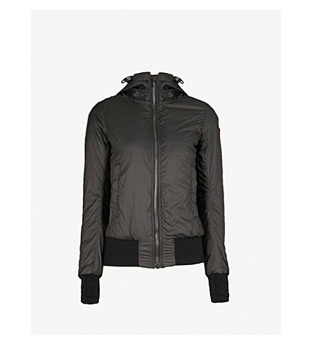 CANADA GOOSE Dore hooded shell-down hoody (Black