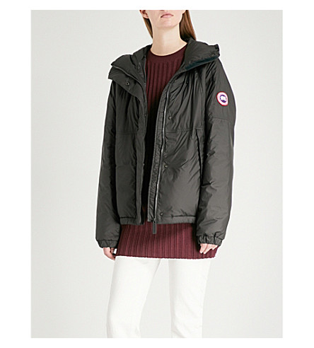 CANADA GOOSE Campden hooded shell-down jacket (Black