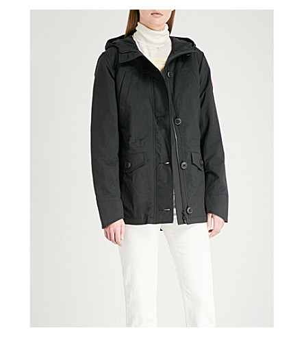 canada goose camp hooded jacket selfridges