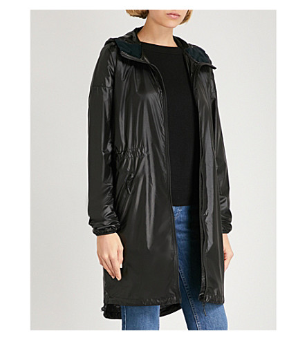 CANADA GOOSE Rosewell hooded shell jacket (Black