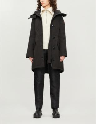 Rossclair shell parka coat