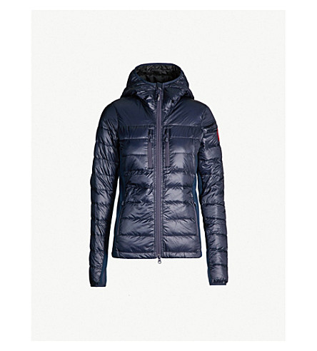 CANADA GOOSE Hybridge Lite shell down jacket (Admiral+blue/black