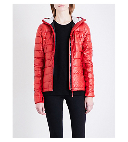 CANADA GOOSE Hybridge Lite shell down jacket (Red/black