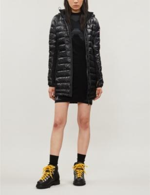 Hybridge Lite shell-down coat