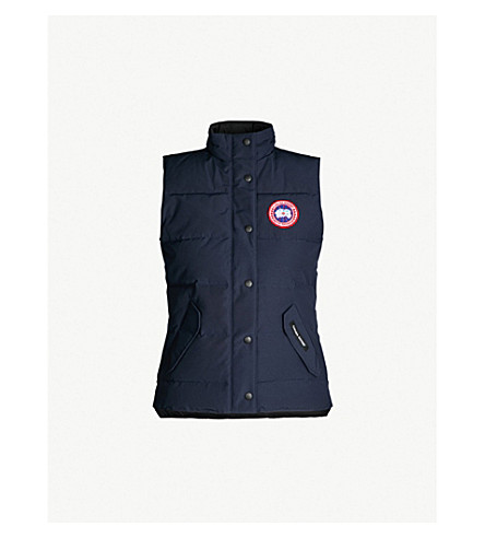 CANADA GOOSE Freestyle shell-down gilet (Admiral+blue