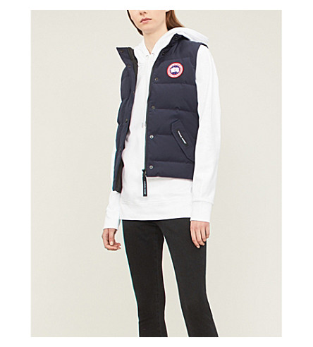 CANADA GOOSE Freestyle shell down gilet (Admiral+blue